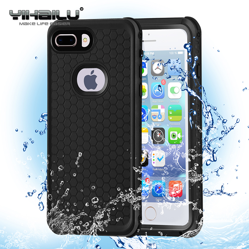 Waterproof Case For IPhone 7 8 Hybrid Swimming Dive Water Shock Proof Cover Outdoor Phone Cases