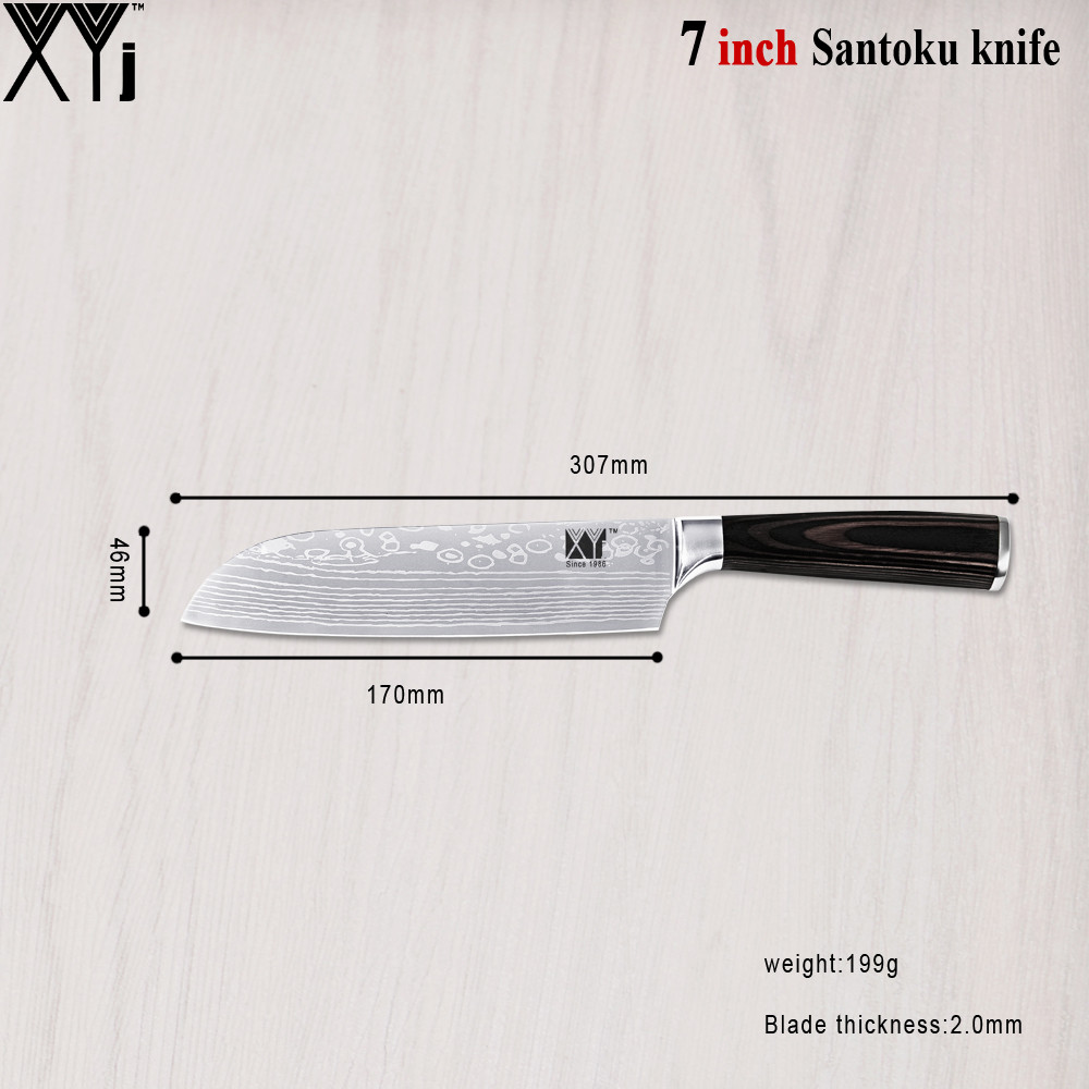 color wood handle kitchen knives 3 5 blade material 7cr17stainless steel handle material color wood handle