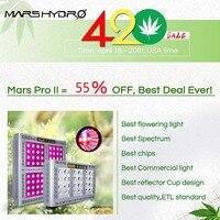 Mars Pro II Epistar 1600W LED Grow Light Kits Best for Veg Flower Indoor Plants Hydroponics Medical Plants Greenhouse