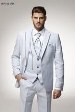 2017 последние пальто брюки Дизайн Кот атласная итальянский мужской костюм для выпускного Slim Fit 3 предмета жениха Костюмы Пользовательские blazer TERNO masculino