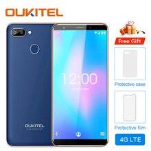 Оригинальный мобильный телефон OUKITEL C11 Pro 5,5 дюймов 18:9 Android 8,1 четырехъядерный 3 ГБ ОЗУ 16 Гб ПЗУ 4G Сотовые телефоны 3400 мАч смартфон