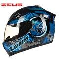 M-xxxl zeus casco integral de motocicleta abs motocross moto ece dot cascos desaceleración antirreflejo