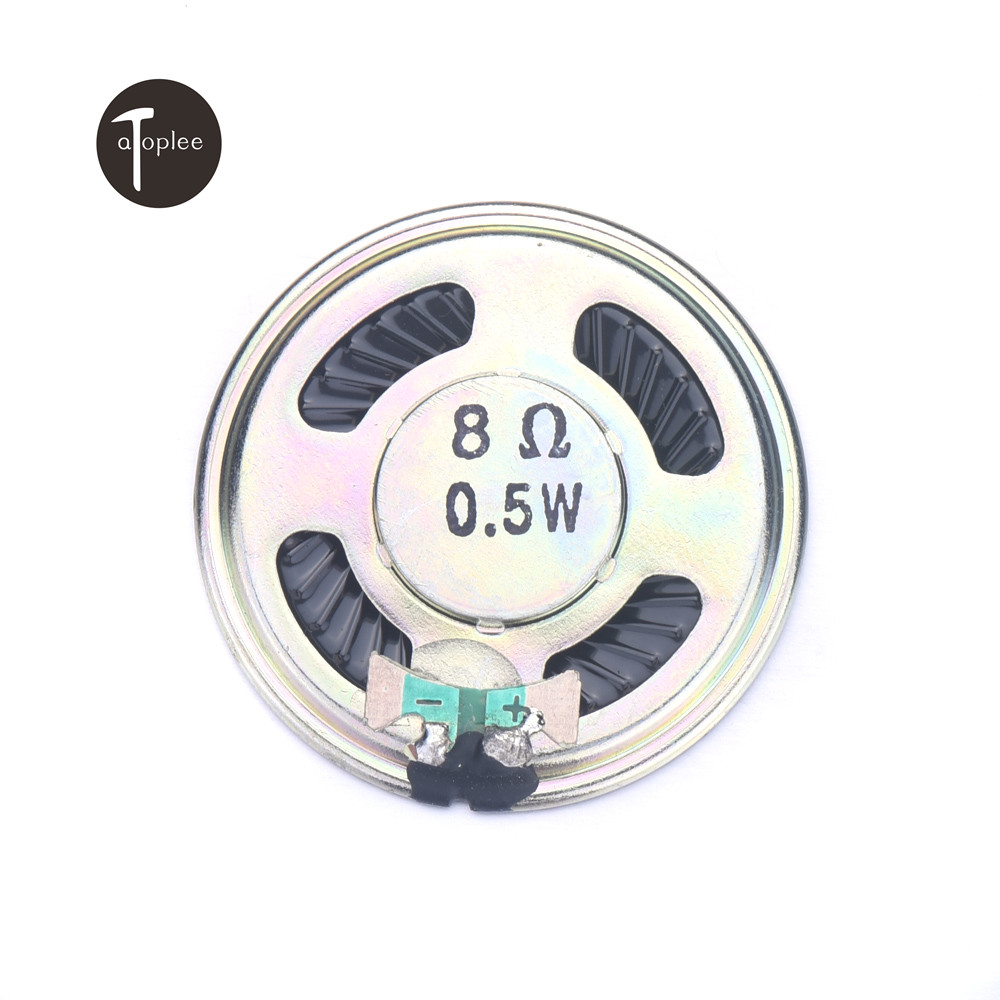 Hot Sale 1/2/5/10pcs 8ohm 0.5w Treble High Frequency Speaker Loudspeaker Buzzer Mini Audio Speaker Inner-Magnet High Quality