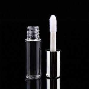 Image 5 - Contenedor de tubos vacíos de brillo de labios, contenedor de tubos de Tubos Bálsamo labial transparente de 1,2 ml, botellas recargables de lápiz labial, tubo de brillo de labios, 90 Uds.
