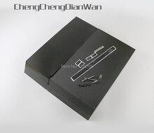 ChengChengDianWa boîtier complet noir avec vis pour console ps4 1100 bonne qualité