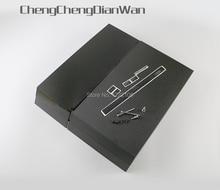 غطاء غلاف كامل أسود من ChengChengDianWa مع مسامير لوحدة التحكم ps4 1100 بجودة جيدة