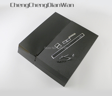 ChengChengDianWa השחור מלא שיכון מעטפת מקרה עם ברגים עבור ps4 1100 קונסולה באיכות טובה