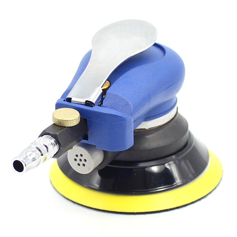 Aletler'ten Parlatıcılar'de HLZS 5 inç araba parlatıcı pnömatik zımpara pnömatik parlatma makinesi hava eksantrik orbital zımpara makinesi aracı title=