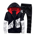 Plus Size 5XL 2017 Spring Autumn Men Sweatshirt Clothing Casual Sportswear Men Tracksuit Set Sweatshirts Men's Sporting Suit