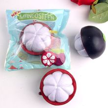 2017 Soft Squeeze Decompression Toys Easter Gift Phone Strap Decompression Slow Rebound Mangosteen