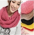 2016 новый осень зима женские шарфы милые дамы шарфы вязаный шарф женщина шарфы из шерсти воротник для женщин