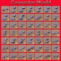 49 modelli di micro mini usb jack presa di coda connettore v8 5 pin 7pin mobile phone tablet pc mid pcb porta esso dc sma cavo di alimentazione maschio