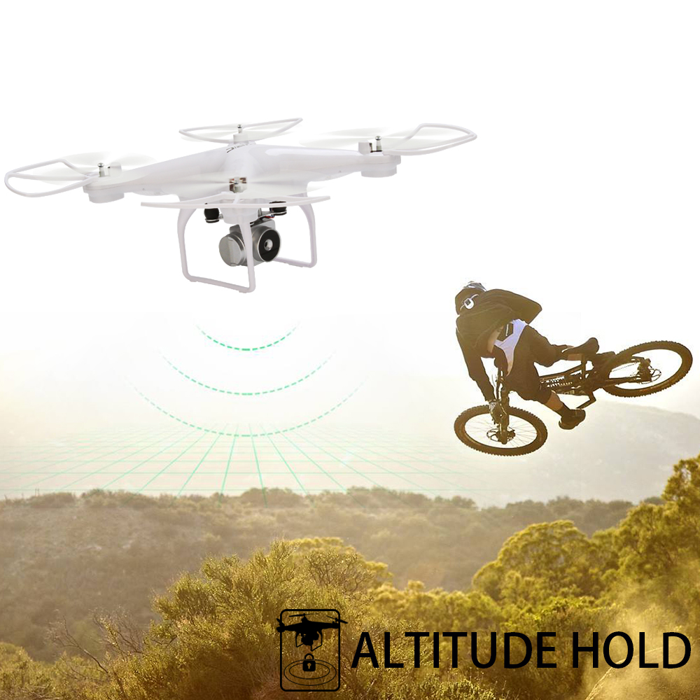 JJRC H68 WiFi FPV 2MP 720P HD Camera 20mins Long Flight Time RC Drone Quadcopter Professional Quadrocopter APP Control Dron