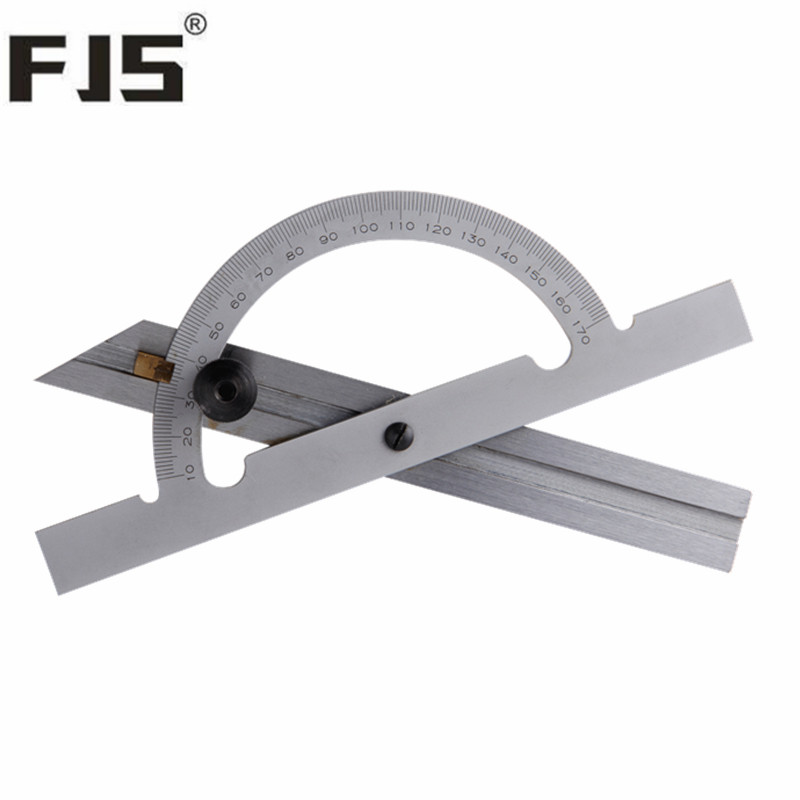 Adjustable Angle Protractor 150 100mm 10 170 Degree Angle Gauge Tools Stainless Steel font b Caliper