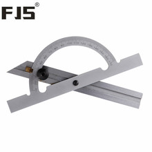 Best Buy Adjustable Angle Protractor 150*100mm 10-170 Degree Angle Gauge Tools Stainless Steel Caliper Measuring Tools