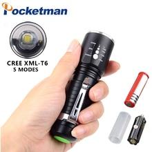 Powerful 3800LM Tactical Led Flashlight xml T6 Waterproof Fl