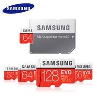 Карта памяти Samsung 32 ГБ, 64 ГБ, TF модуль памяти Transflash карты памяти 128G 256G SDHC 95 МБ/с. Класс EVO + Micro SD класса 10 Micro SD C10 UHS