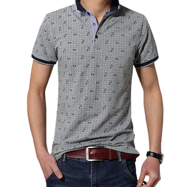 Uwback 2017 nueva marca de verano polo camisa homme caballo pequeño corto polos camisas polo de los hombres más el tamaño de algodón de manga casual hombre ta063