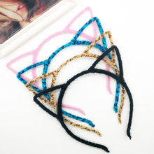 1 PCS Stylish Women Girls Cat Ears Headband Accessories Sexy Head Band Multicolor Styling Tools Headwear(China)