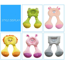 Happy Cherry Baby Pillow Safety Kids Headrest For Car Seats Travel Cushion Child Sleeping Head Neck Protector Cartoon Pillow