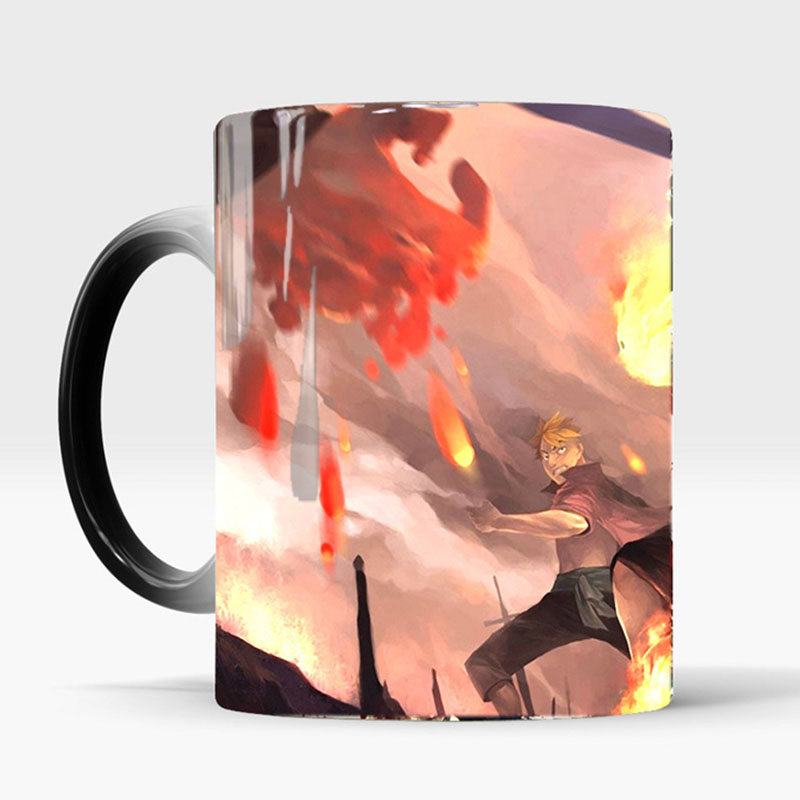 ONE-PIECE-Color-Changing-Mug-Cool-Luffy-ACE-Sabo-Heat-Reveal-Ceramics-Coffee-Milk-Cups-Birthday