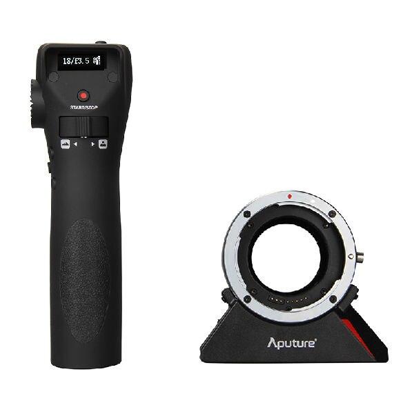 Aputure DEC E Lens Adapter Wireless Remote Follow Focus Control for Canon Lens to E Mount