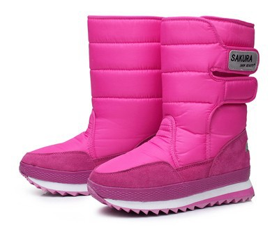 2014-new-Boots-high-leg-boots-platform-women-snow-shoes-waterproof-boots-snow-boots-Hot-sale (5)