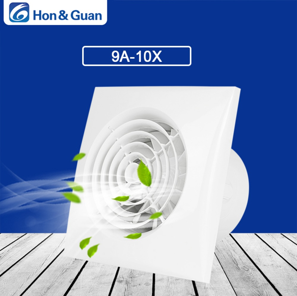 Hon Guan 10w 4 Inch Exhaust Fan Home Ventilation Bathroom Wall Or Ceiling Extractor 100v 240v In Fans From Liances On Aliexpress