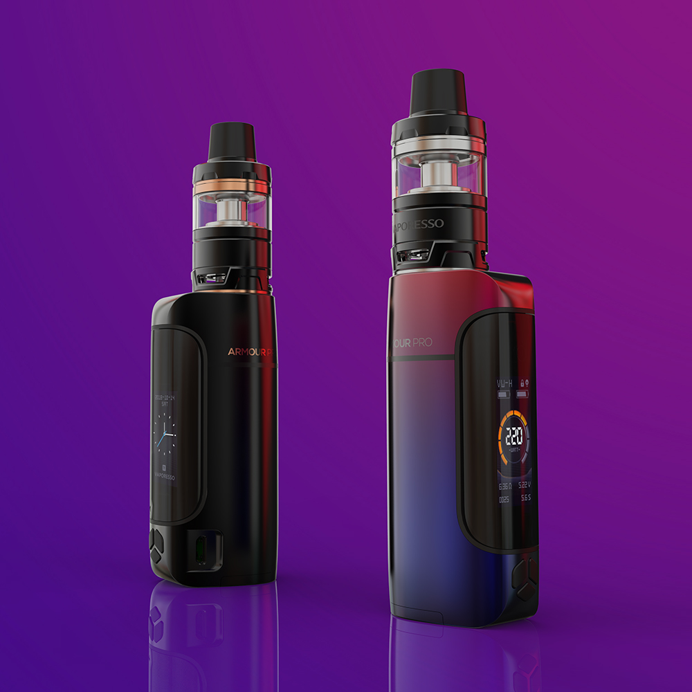 Original Vaporesso Armour Pro 100w Tc Kit With 5ml/2ml Cascade Baby Tank & 0.96 Inch Colorful Display E-cig Vape Kit No Battery #3