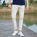 Pioneer Camp Casual Pants Men Cotton Pants For Men 2017 New Fashion Men Pants Brand Slim Fit White Elastic male Trousers  677043