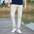 Pioneer camp pantalones casuales hombres pantalones de algodón para hombres 2017 nuevo moda Caballero de Marca Pantalones Slim Fit Blanco masculinos Pantalones Elásticos 677043
