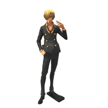 Anime One Piece New Sanji Roronoa Zoro PVC Action Figure Doll Collectible Model Toy Gift For Children цена и фото