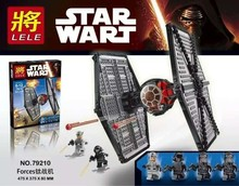 LELE 79210 Star Wars Forces Tie Fighter  Building Block Minifigue Toys Kid Gift Best Toys Compatible with Legoe