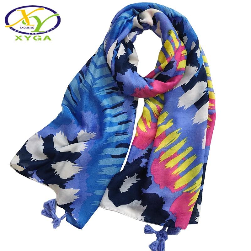1PC Women Cotton Long Scarves Tassels 2019 Spring Ladies Polyester Beach Wraps Thin Summer Soft Female Fashion Shawls Autumn