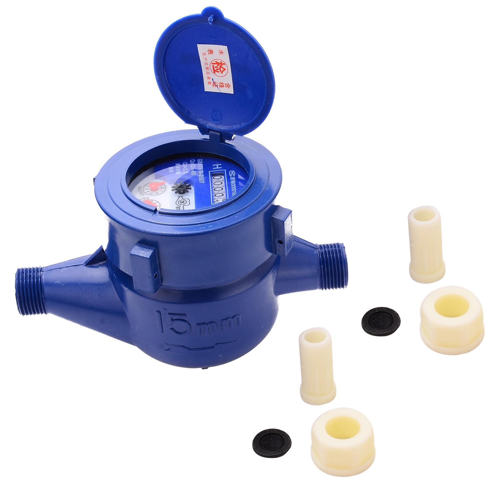 Aliexpress Buy Plastic 15mm Water Meter Counter