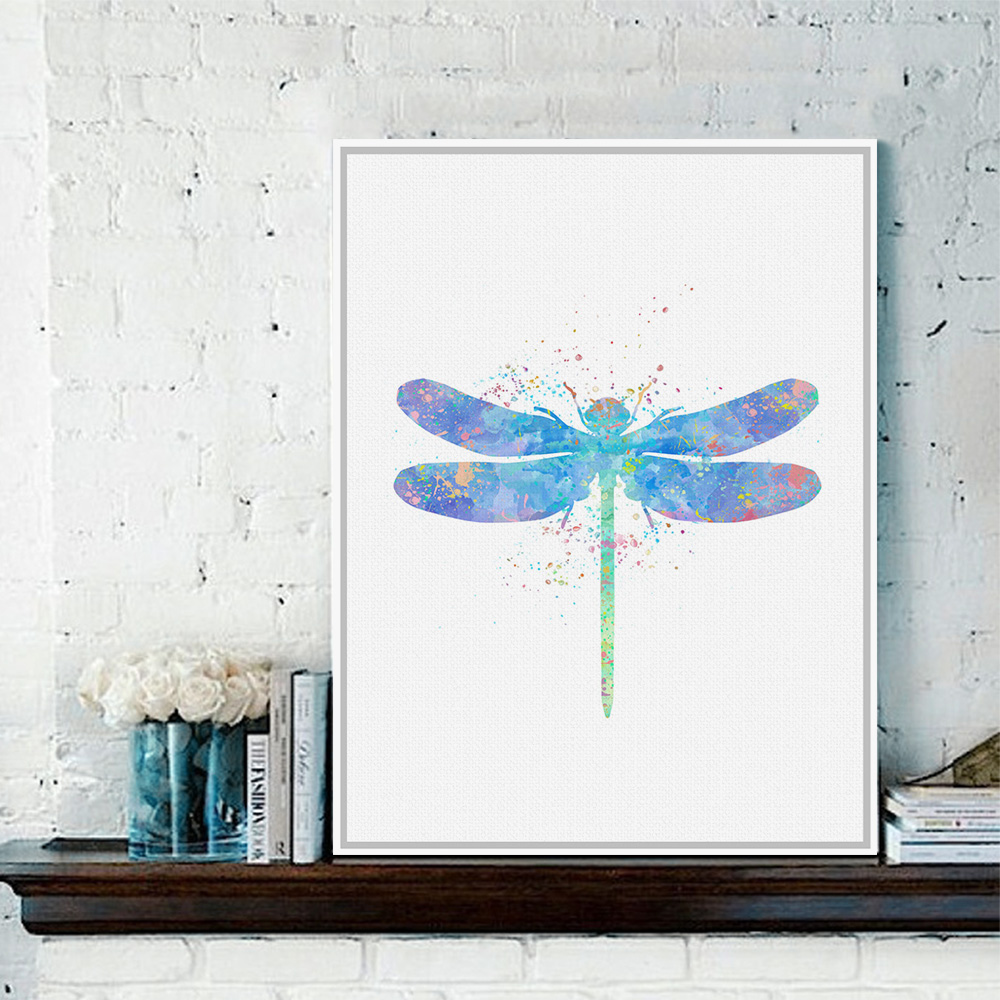 Dragonflies Wall Decor Online Get Cheap Dragonfly Wall Art Aliexpresscom Alibaba Group