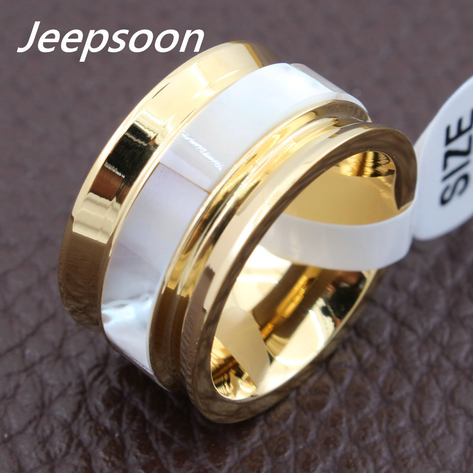 Newest Fashion Round Pattern Rings Gold Color Wholesale Stainless Steel Jewelry For Women Gift Top Quality RBJFBOBF 6pcs of stylish color glazed round rings for women