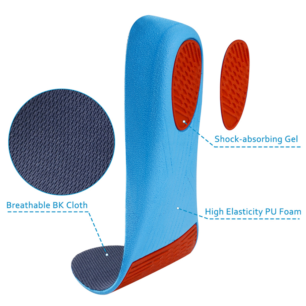 Demine PU Height Increase Insoles Invisible Cushion Height Lift Adjustable Cut Shoe Heel Pad Taller Inserts for Women Men Unisex in Insoles from Shoes