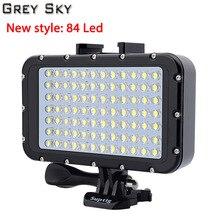 Для Gopro Hero7 6 5 3 SJCAM SJ5000 Xiaomi yi Mijia EKEN H9 Action/SLR Camera, подводный свет для фотографии, фонарик для дайвинга