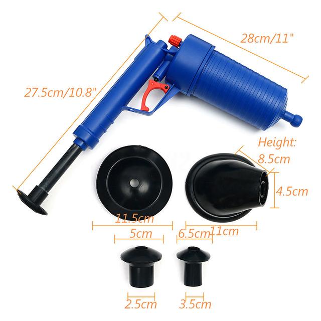 Power Plunger Air Pressure Blaster Pump