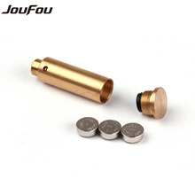 JouFou Tactical Accessories CAL.38 Cartridge Calibration Instrument Red Laser Boresighter Collimator for Hunting Rifle