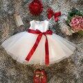 Newbron ребенок первый день рождения dress наряды дети платья для девочек крещение наряды детские костюмы infantil vestidos 1 2 лет