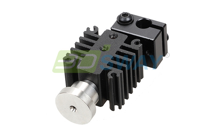 3DSWAY 3D Printer Parts Integrated Metal Universal Hotend Kit 0.4mm1.75mm Short-distance Feed E3D Hot End Kit (5)