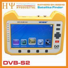 [Véritable] Sathero SH-900HD DVB-S2 Numérique Par Satellite Finder Compteur 7 pouces DVB-S2 Support CCTV Mètre Satellite Finder Livraison Gratuite