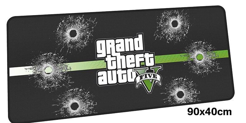 Gta v коврик для мыши gamer 900x400 мм notbook коврик для мыши большой игровой коврик дл ...