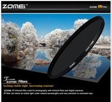 Zomei 680nm 720nm 760nm 850nm 950nm Kızılötesi IR filtre 37/49/52/58/67/72 /82mm SLR DSLR kamera için lens