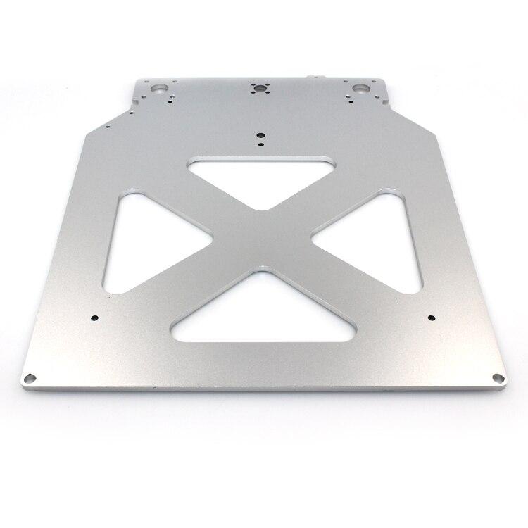 Funssor 3D imprimante pièces Ultimaker2 plaque en aluminium hot bed Z support de plate-forme, plaque en aluminium
