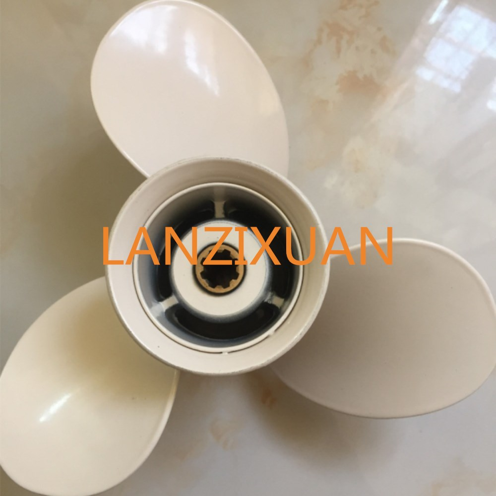 Aluminum Alloy Propeller 9 1/4X8 -J for Yamaha 9.9HP 15HP Outboard Motors 9 1 /4 X 8 -J