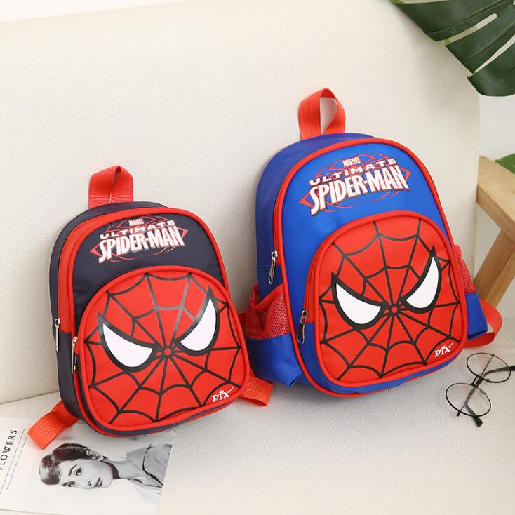The Avengers Kids Backpacks Boys Spiderman School Bags Cartoon Character Children Schoolbag Toddler Backpack For Girls