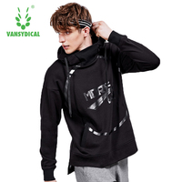 Leisure sports blouse male spring and autumn new loose spring and autumn loose elastic air permeable outdoor running roun